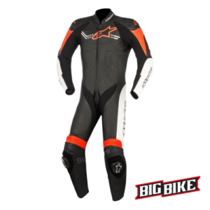SUIT 1 MẢNH ALPINESTARS CHALLENGER V2 BLACK/ORANGE-0