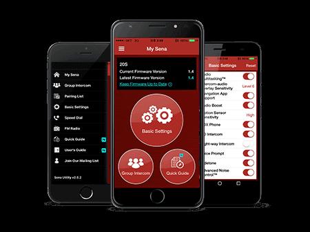 nền tảng ứng dụng của tai nghe Bluetooth Sena